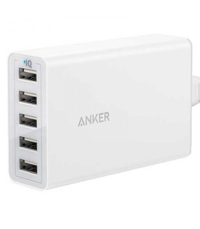 شارژر Anker 40W PowerPort 5 USB
