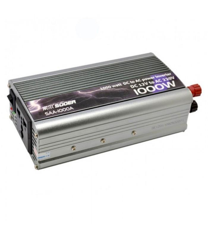 مبدل برق خودرو( 1000 وات )