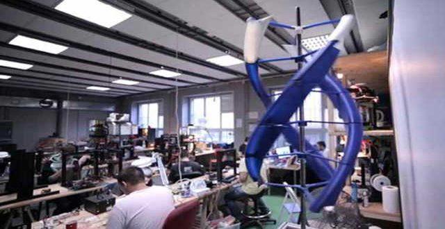 توربین بادی قابل حمل AirEnergy