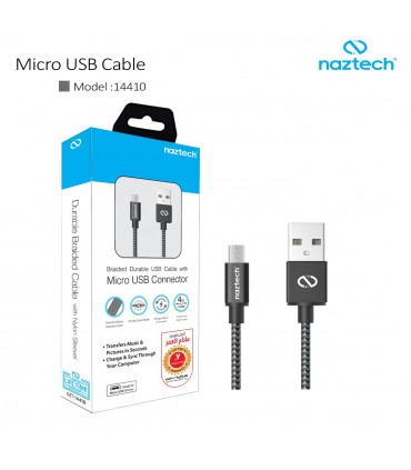 کابل شارژ و انتقال اطلاعات Micro USB