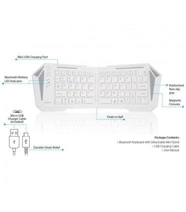 صفحه کلید بلوتوث تاشو N1500