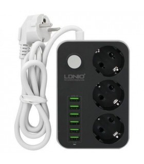 سه راهی برق و شارژ الدینیو مدل LDNIO SE3631