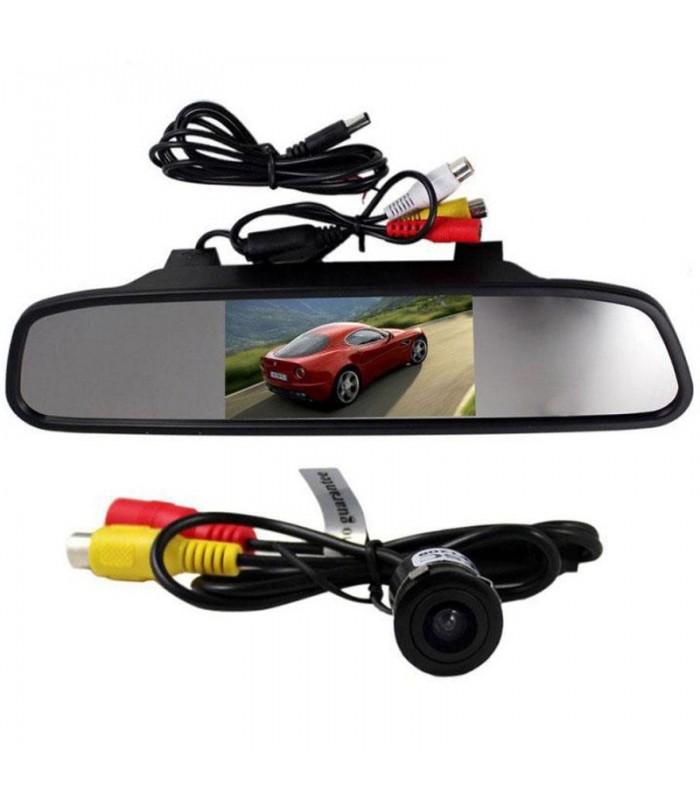 مانیتور آینه ای ۴٫۳ اینچ بهمراه دوربین دنده عقب