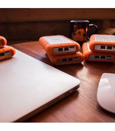 هارد اکسترنال LaCie Rugged Triple USB 3.0 1TB