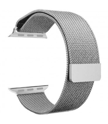 بند فلزی مدل Milanese Loop مناسب برای اپل واچ 42 میلی متری