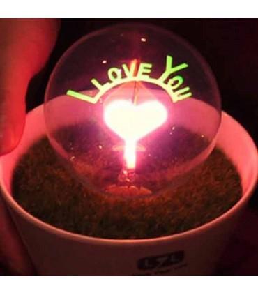 چراغ لمسی I LOVE YOU