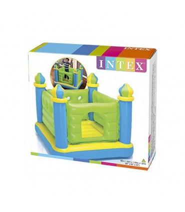 جامپینگ بادی مدل قلعه INTEX