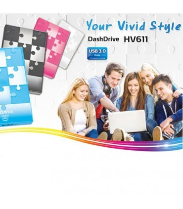هارد اکسترنال ای دیتا 500 گیگابایت دش درایو HV611
