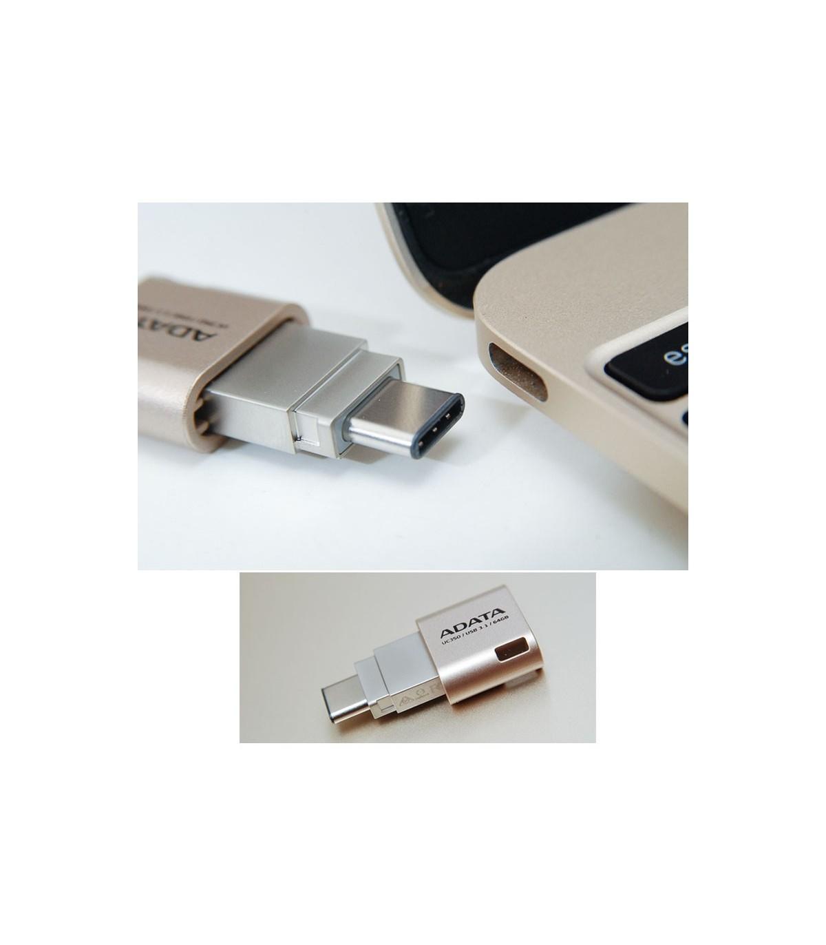 فلش مموری 16 گیگابایت Adata UC350 USB Type-C