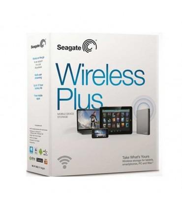 هارد اکسترنال Seagate Wireless Plus Mobile with Built-In Wi-Fi – 2TB