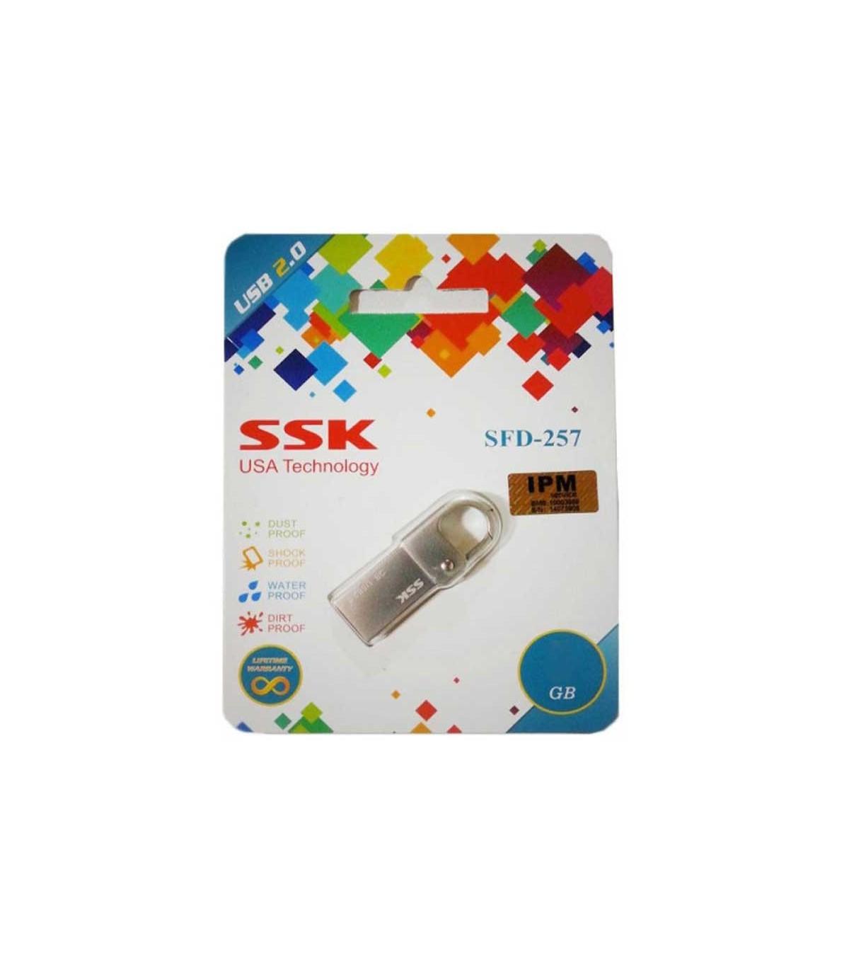 فلش مموری 8 گیگابایت SSK SFD257 - خصوصی