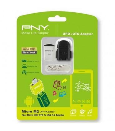 فلش مموری پی ان وای 16 گیگابایت Micro M2 Attache