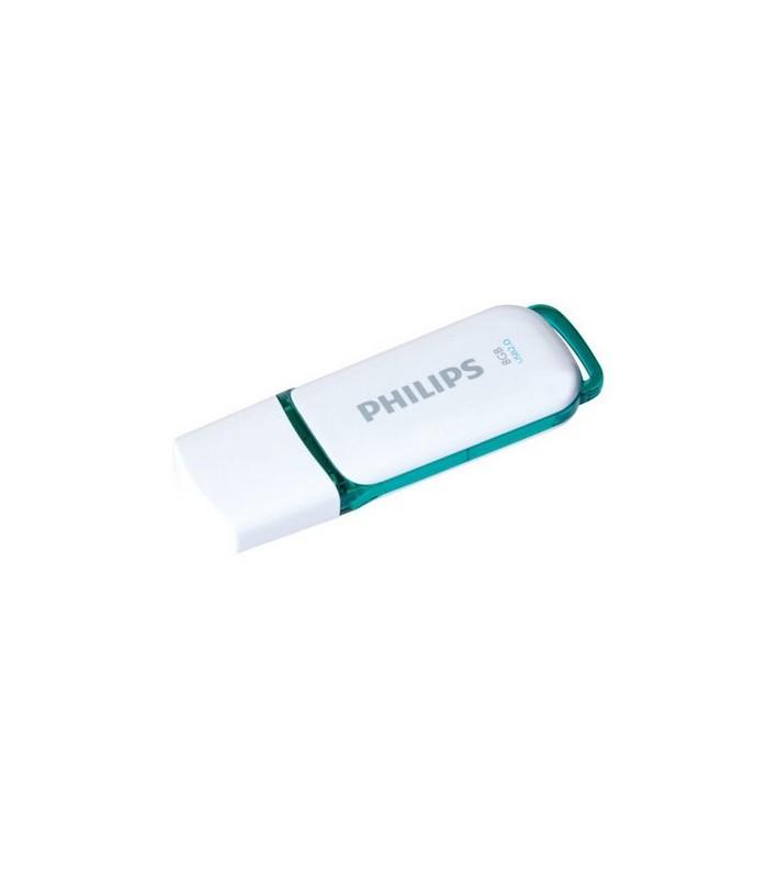 فلش مموری فیلیپس 8 گیگابایت Snow Edition FM08FD75B USB 3.0
