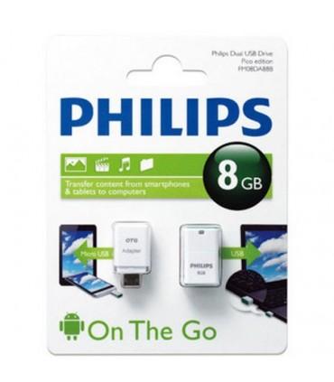 فلش مموری فیلیپس 8 گیگابایت Pico Edition FM08DA88B/97 USB 2.0