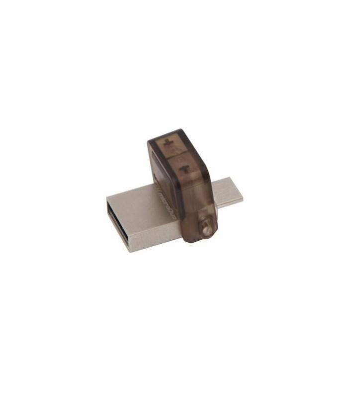 فلش مموری کینگستون 8 گیگابایت DTDUO USB 2.0 OTG
