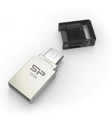 فلش مموری USB OTG سیلیکون پاور 32 گیگ X10