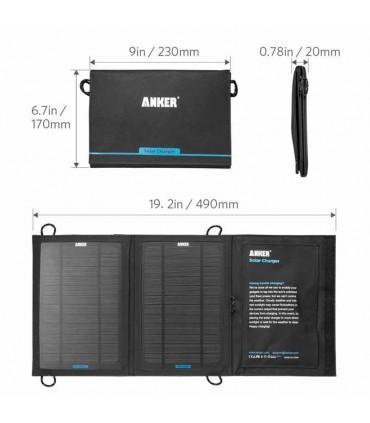 پاور بانک Anker 14W Dual-Port Solar Charger