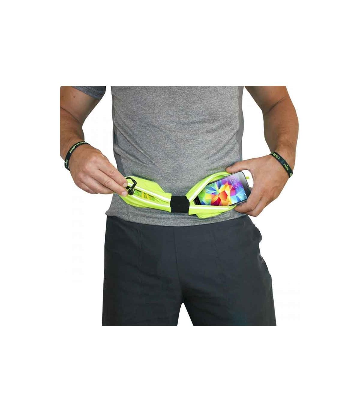 کمر بند ورزشیPuro Universal Double Strech Pouch Sport Belt Smartphones Up to 6.3