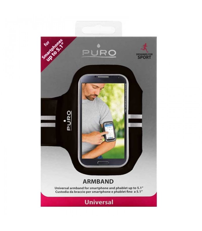 کیف بازویی Puro Universal UNIBAND Armband Cover For Smart Phones 5.1