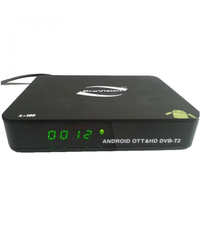 اندروید باکس هیبرید ANDROID HYBRID BOX X100
