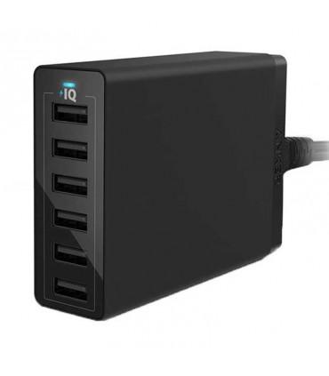 شارژر Anker 60W PowerPort 6 USB