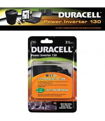 مبدل فنجانی برق خودرو Duracell 130 W