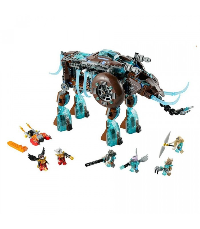 لگو Legends of Chima Maulas Ice Mammoth Stomper 70145