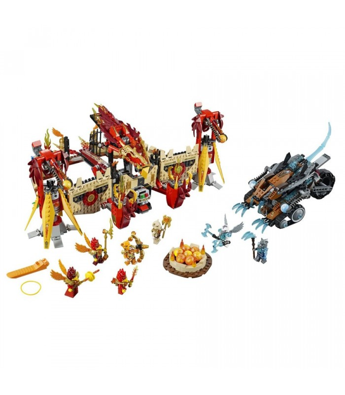 لگو Legends of Chima Flying Phoenix Fire Temple 70146