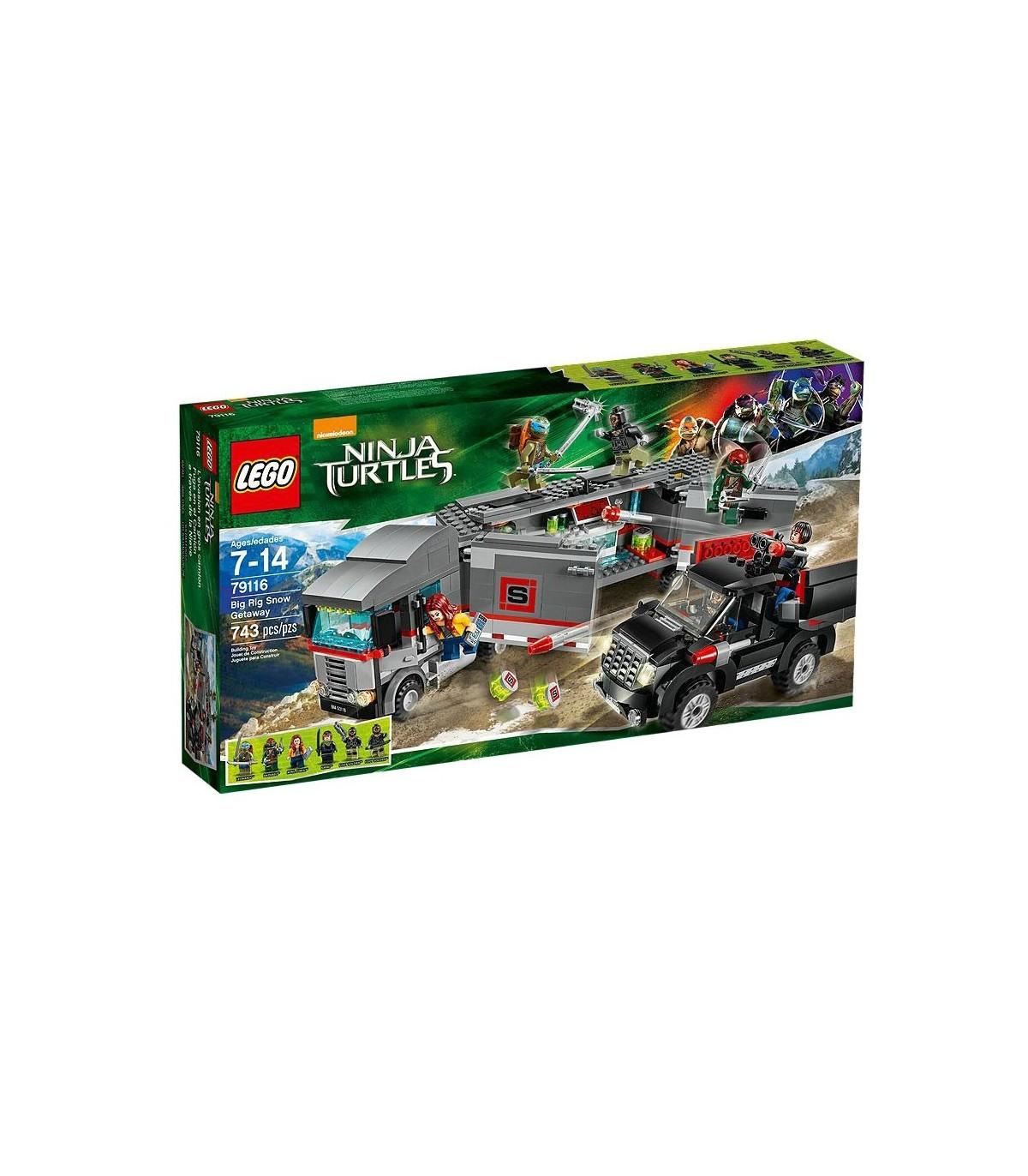 لگو Ninja Turtles Big Rig Snow Getaway 79116