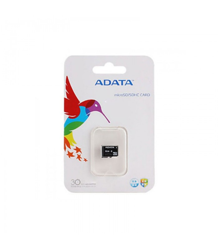 رم میکرو اس دی Adata MicroSD Card Class 4 With Adaptor 8GB