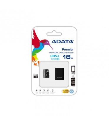 رم میکرو اس دی Adata microSDHC Premier UHS-I 16GB Class 10