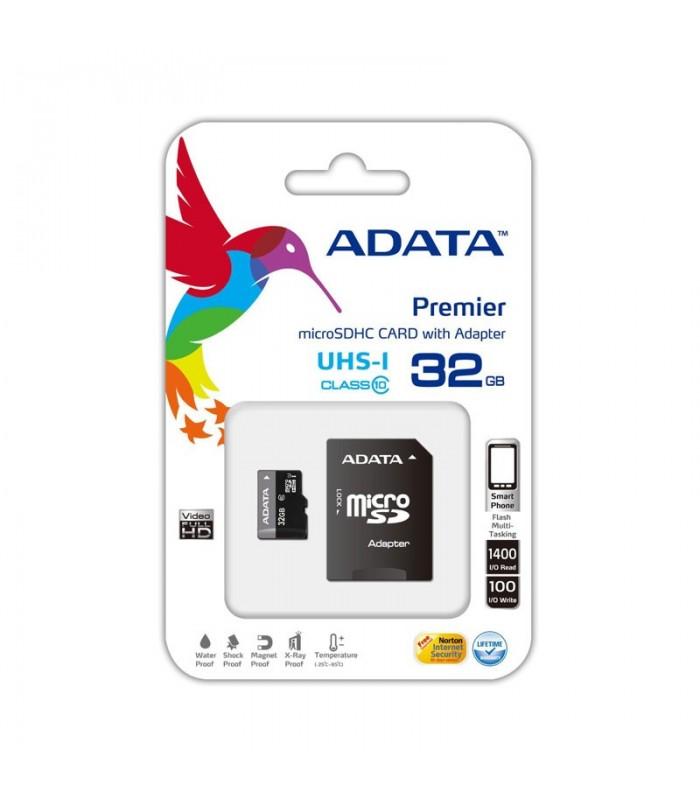 رم میکرو اس دی Adata microSDHC Card Premier UHS-I 32GB Class 10