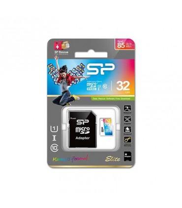 رم میکرو اس دی Silicon Power Elite 32GB UHS-I U1 85MBs With Adapter