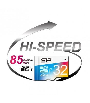 رم میکرو اس دی Silicon Power Elite UHS-I 32GB Class 10 With Adapter