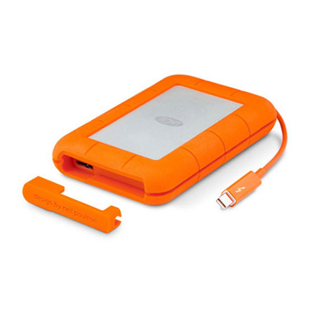 هارد اکسترنال LaCie Rugged Thunderbolt And USB 3.0 – 1TB-02