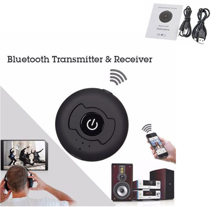 Multi-point Wireless Audio Bluetooth Transmitter-01