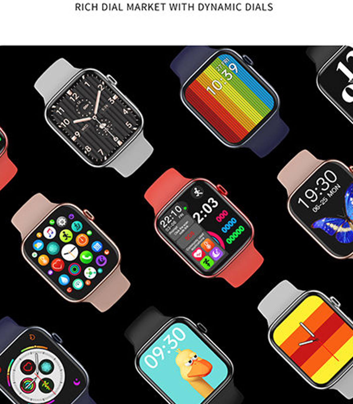 ساعت هوشمند مدل F28