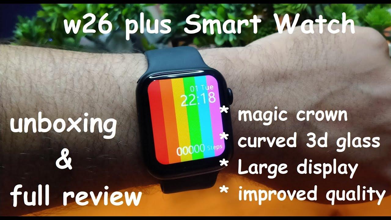 ساعت هوشمند مدل W26 Plus 202